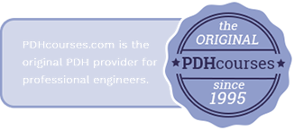 PDHcourses is the original PDH provider for professional engineers